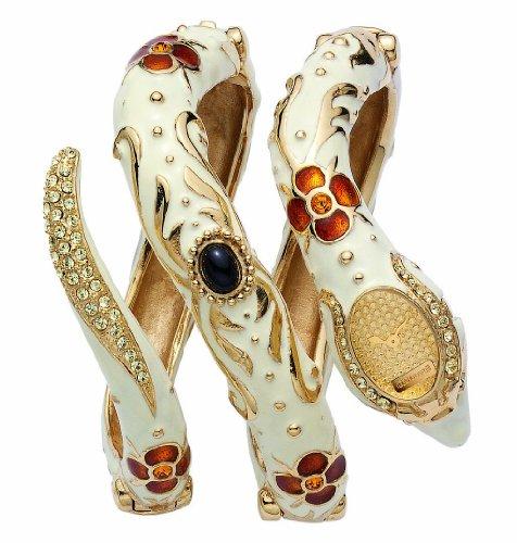 Roberto Cavalli R7253132517 - Orologio da polso da donna, cinturino in oro multicolore