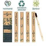 Bambus Zahnbürsten | 4er Pack
