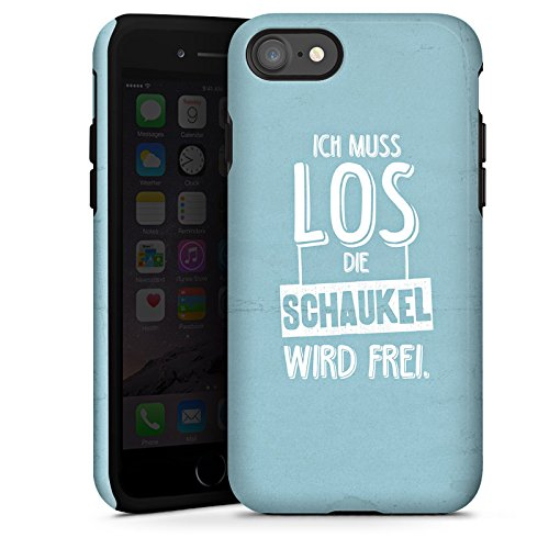 Apple iPhone X Silikon Hülle Case Schutzhülle Spruch Humor Visual Statements Tough Case glänzend