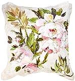 Designers Guild 3359104059221Funda de Almohada Cuadrada diseño Floral Satin Natural 65x 65cm