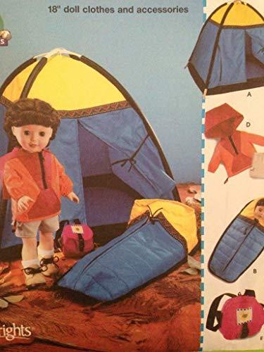 Simplicity 5679 - Cartamodello per vestiti da bambola, 45,5 cm