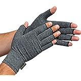 Great Ideas Paire de gants anti-arthrose Offrent chaleur et compression pour aider à augmenter la circulation, réduire les douleurs et encourager la guérison - Taille S