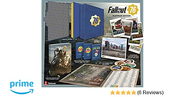 Fallout 76  Official Platinum Edition Guide  Amazon.co.uk  David Hodgson,  Garitt Rocha, Prima Games  9780744019834  Books 8d64fd3ce1