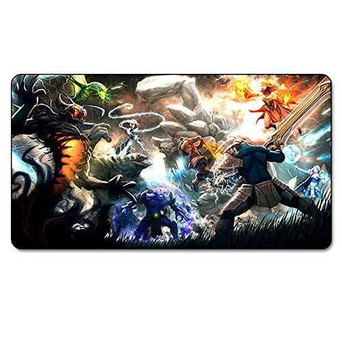 WQQ Gaming Mouse Pad | Mousepad | 750 x 400 mm | Superficie