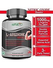 Naturyz L-Arginine-1000mg(Pre-workout tablets) Essential Am