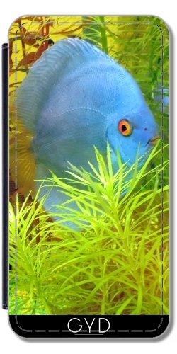 Coque pour Iphone 6 Plus (5,5'') - Poissons Diskus Aquarium by WonderfulDreamPicture Simili-Cuir