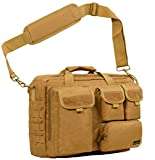 "Seibertron Epaule Pro- multifonction Mens tactique militaire exterieure Messenger Bag Sacs a main Porte-documents suffisamment grand pour 14,1 ""ordinateur portable / Sony / Canon / Nikon / Olympus / iPad Khaki"