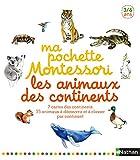 Ma pochette Montessori - Les animaux des continents - 3/6 ans