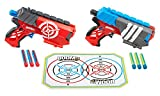 BOOMco Toy - Dual Defenders Blasters - Smart Stick Technology - Includes Target and Darts