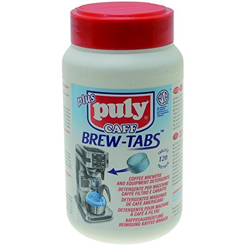 REINIGER KAFFEEFILTER PULY CAFF BREW TABS 120 Tabletten a 4g