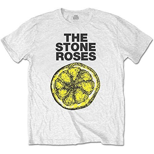 Men's the Stone Roses Lemon 1989 Tour T-Shirt