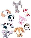 déguisement fête accessoire Faune Animal SEMAINE DU LIVRE Déguisement MASQUE VISAGE AVEC merveilleuse - Lion, One size