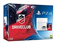 Sony PS4 Console with DriveClub - White (PS4)