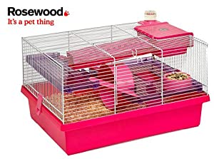 Pico Hamster Cage - Home by Coopet - Pink from Coopet