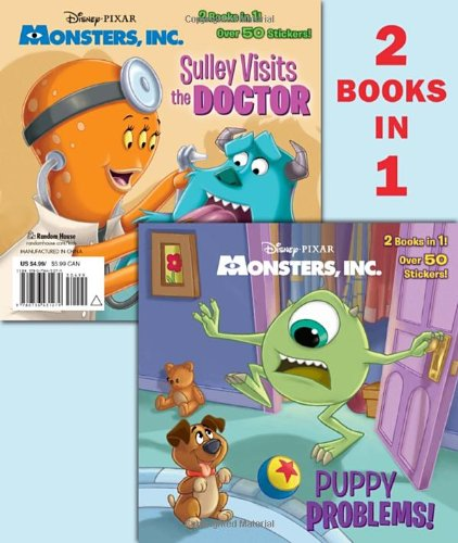Puppy Problems!/Sulley Visits the Doctor (Disney/Pixar Monsters, Inc.)