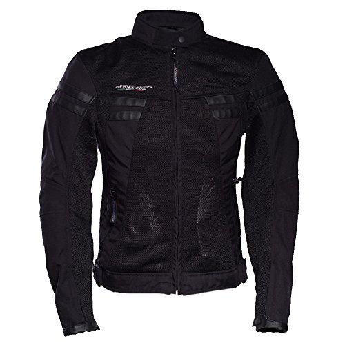 AGV Sports Celle Giacche moto in tessuto per donna (S, Nero) - Agv Sport Moto
