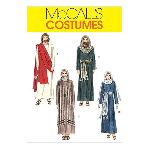 Erwachsene Mccalls Kostüm Muster Für - McCall 's Schnittmuster 2060Unisex Erwachsene Kostüme Größen: 42-44