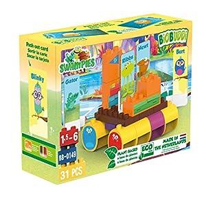 BiOBUDDi Swampies BB-0149 Juguete de construcción - Juguetes de construcción (Juego de construcción,, 1,5 año(s), 31 Pieza(s), Niño/niña, Niños)