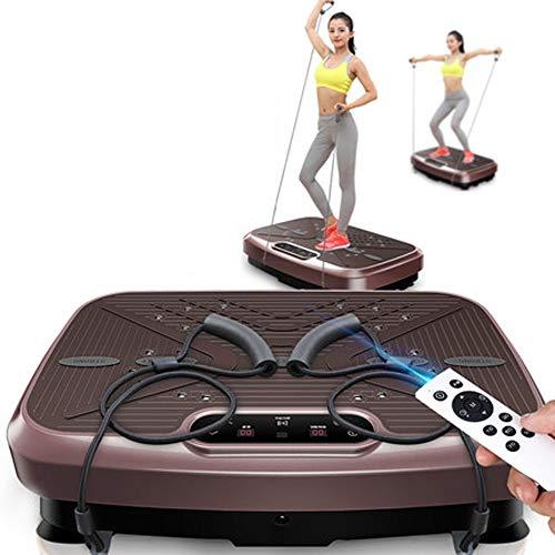 CWDXD Fitness Dual-Motor 3D Vibrationsplatte | Abnehmen der Bauchfettverbrennungseignungsschwingung, die Abdominal- Gewichtsverlustmaschine Steht