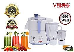 Vibro Juicer, Mixer and Grinder DYNA 2014 (Centrifugal) 500 Watt