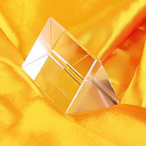 Ueetek optisches Glasprisma, für den Physikunterricht
