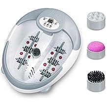 Hangsun Bain de Pieds FM600 Bain de Pied luxe multifonction avec Rouleaux de Massage Spa Thalasso Pédicure