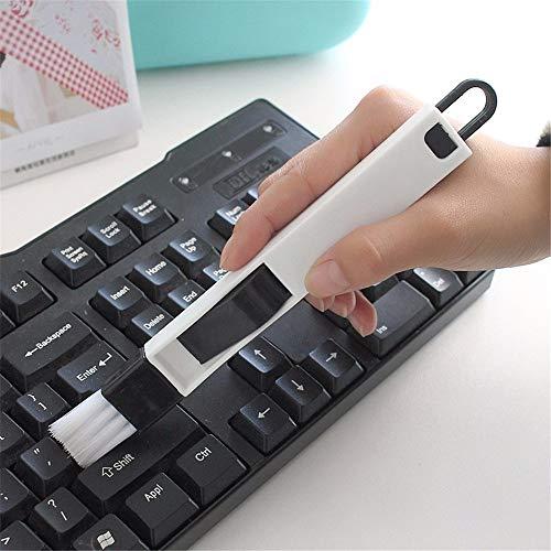 zhang-hongjun,Multi Zweck-Fenster-Graben-Haushaltsbürsten-Reiniger-Tastatur-Ausgangsküche-faltende Reinigungswerkzeuge(Color:COLORMIX)