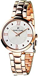 Daniel Klein Analog Silver Dial Womens Watch-DK11396-2