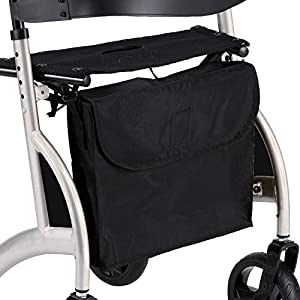 Replacement shopping bag for rollators walker and walking frame with X folding frame comes with shoulder strap
