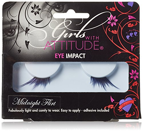 Girls with Attitude Midnight Flirt Eye Lashes Set