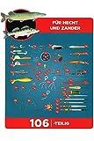 Crivit® Raubfischbox - 106 teilig Angelausrüstungsset
