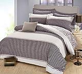 GY&H Juegos de funda nórdica De alta calidad de algodón de molienda bordado activa de impresión y teñido cama Ouya cuatro conjuntos de cama (Queen, King),O,Queen