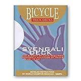 Svengali Deck 809 Mandolin Back Bicycle (Blue) - Tarjeta Juegos -...