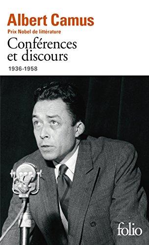 Confrences et discours: (1936-1958)