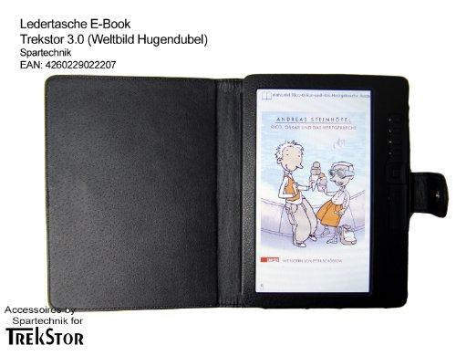 Tasche für Trekstor 3.0 von Hugendubel Weltbild Jonkers E-Book Reader - bestes Case für E-Book Reader Trekstor 3 - Elektronisches Buch schwarz