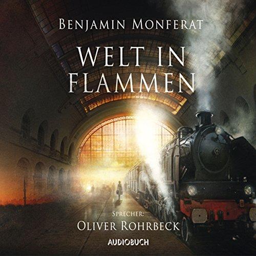 Buchseite und Rezensionen zu 'Welt in Flammen' von Benjamin Monferat
