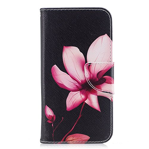 Samsung Galaxy S6 Edge Case, Wallet Card Holder with Kickstand Slim Leather Cover for Samsung Galaxy S6 Edge[with Free Tempered Glass Screen Protector]