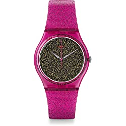 Swatch Reloj Digital para Mujer de Cuarzo con Correa en Silicona GP149