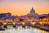 Petersdom Rom Italien Stadt XXL Wandbild Kunstdruck Foto