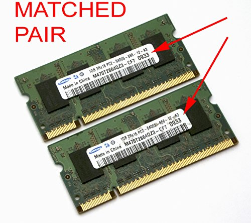 Samsung M470T5663QZ3-CE6 2GB DDR2 PC2-5300 Laptop RAM (667MHz)