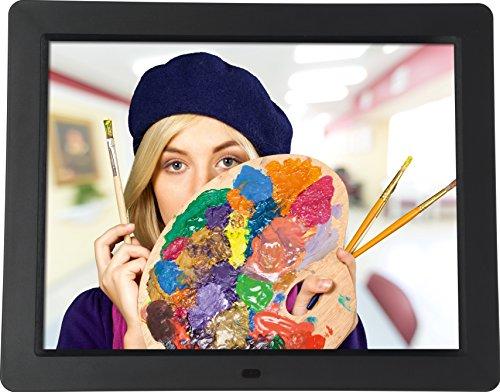 """Rollei Degas DPF 15"""" - Digitaler Multi-Media Bilderrahmen mit 15.0"""" (38,1 cm) TFT-LED Panel, Bild-, Video-, Musik-, Kalender- und Uhrfunktion, Diashow, inkl. Fernbedienung - Schwarz"""