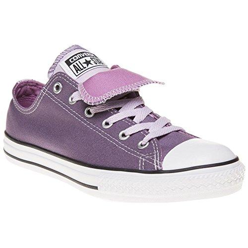 Converse All Star Double Tongue Bambina Sneaker Porpora PURPLE|MULTI