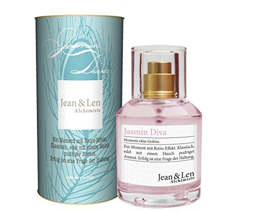 Jean & Len Jasmin Diva, Damenduft, Eau de Parfum, 50 ml, 1 Stück