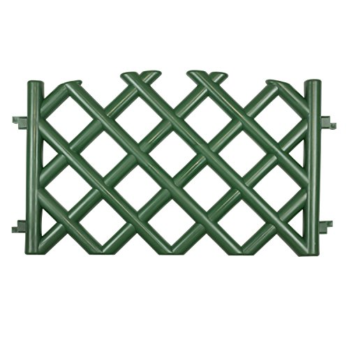 green-35-m-long-plastic-garden-picket-fence-4-colours