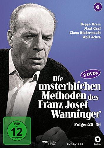 Die unsterblichen Methoden des Franz Josef Wanninger - Box 6, Folgen 25-36 [2 DVDs] hier kaufen