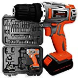 Terratek TCDS50 18V/20V Cordless Drill Driver Electric Screwdriver Carry Case - 50Pcs Kit