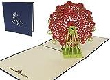 LIN 17514 3D POP UP Grußkarte, inklusiv Umschlag