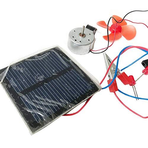 juler Lernspielzeug STEM Toys Science Kits Solar-Anwendungsmaterialien Primärwissenschaftliches Experiment Lehrinstrumente,Schwarz,Einheitsgröße