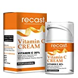 Recast Vitamin C Cream - Anti aging cream for fine lines, wrinkles, dark