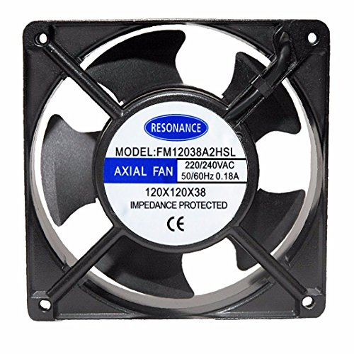 Resonance Electronically Commutated Cooling Fan for Multi-Purpose Ocassions for Home and Office -Size 4.75 inches (12X12X3.8 CMS)